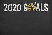 New Year 2020 Goals on Blackboard