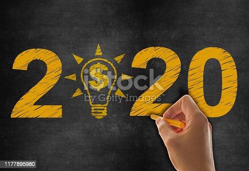 New Year 2020 on Blackboard
