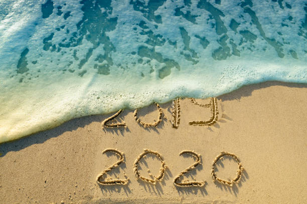 New Year 2020 on the beach