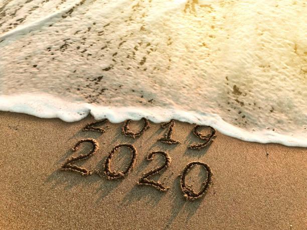 Año nuevo 2020 - foto de stock
