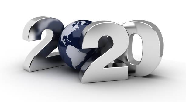 nieuw jaar 2020 - new world stockfoto's en -beelden