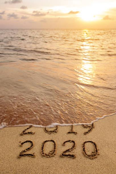 New year 2020 stock photo