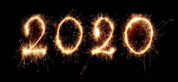New Year 2020 Sparkling