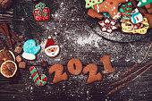 istock New year 2021 concept 1276391614