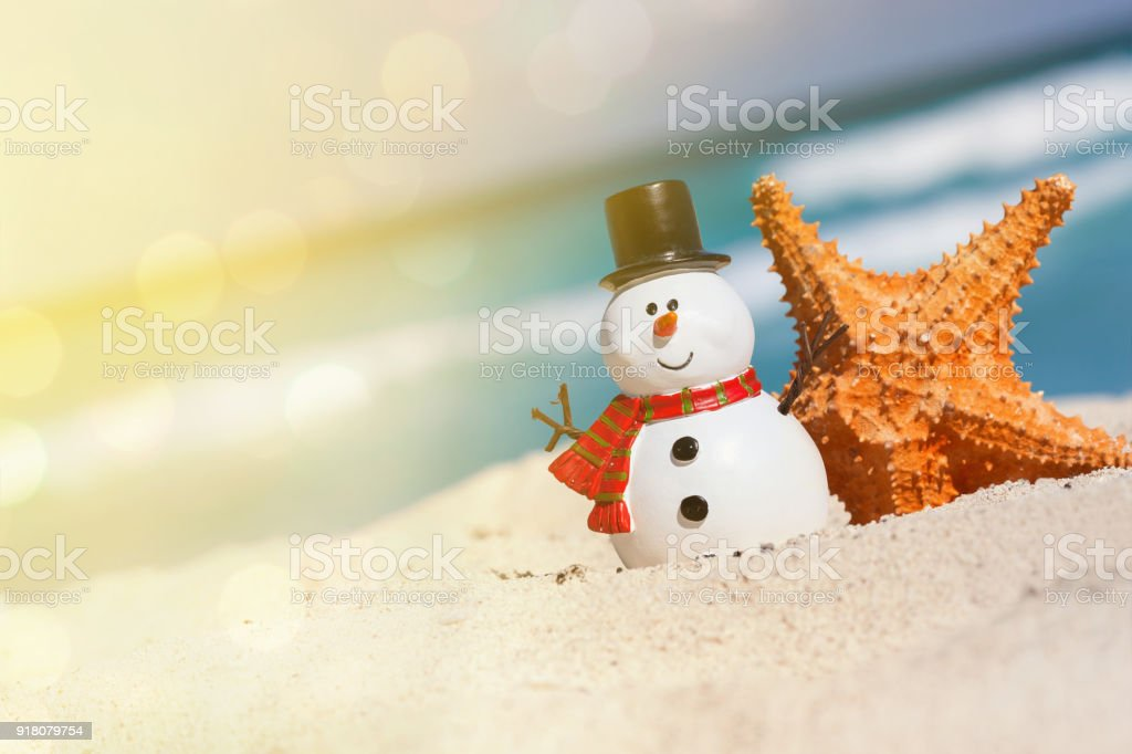 New Year And Christmas Card Stock Photo & More Pictures of Beach ...