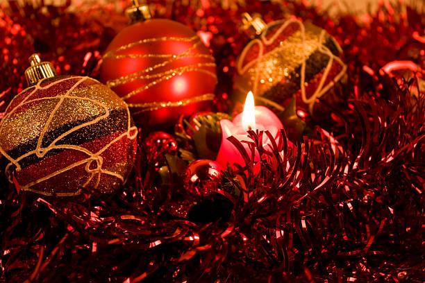New year and christmas celebration stock photo