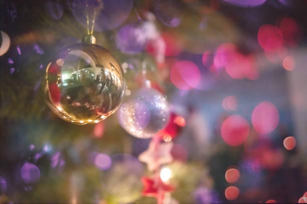 Neujahrs- und Weihnachtsbüroparty aus nächster Nähe – Foto