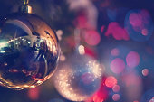 istock new year and christmas office party close up 1189264300