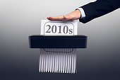 istock New Year and Decade - 2010s in the Paper Shredder 1194498858