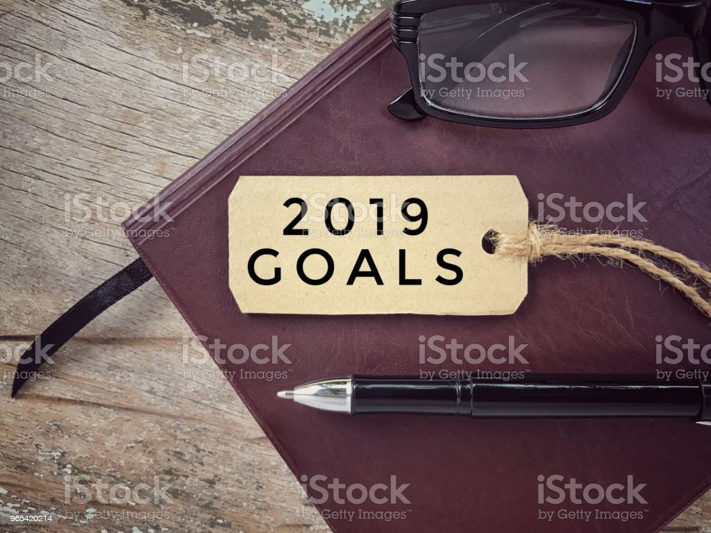 New Year and resolutions concept. royalty-free stock photo