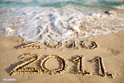 istock New Year at the Beach 2011 183266883