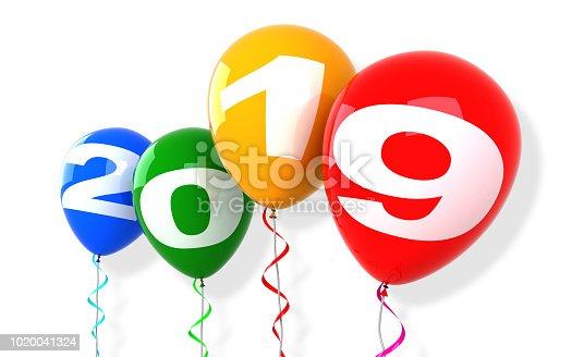 istock New Year Balloons 2019 1020041324