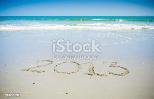1004788900 istock photo New Year Beach - 2013 175429978
