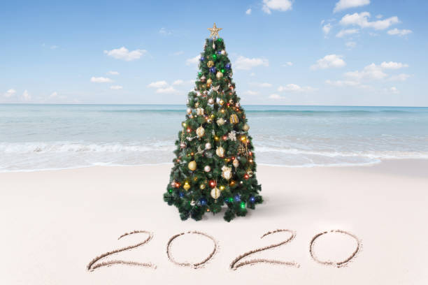 new year beach