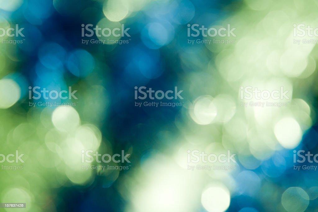 New Year bokeh stock photo