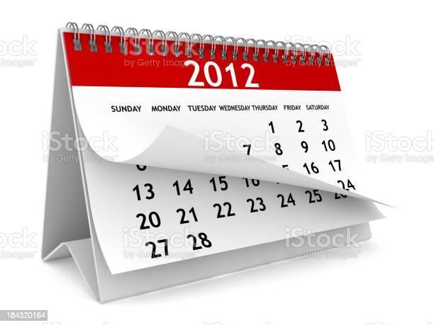 Neue Jahr Kalender Stockfoto und mehr Bilder von 2011