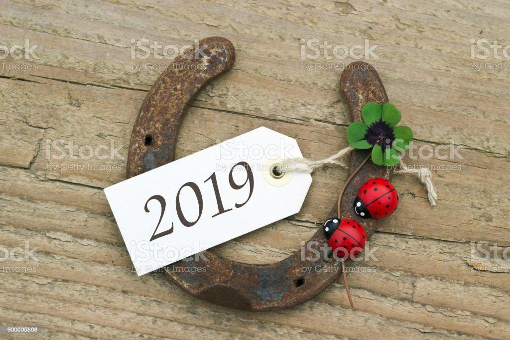 Neujahrskarte für 2019 – Foto