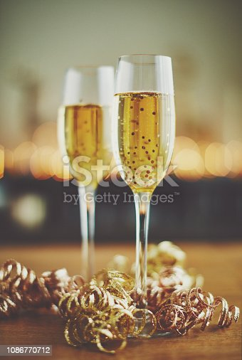istock New Year celebrations champagne in flutes 1086770712