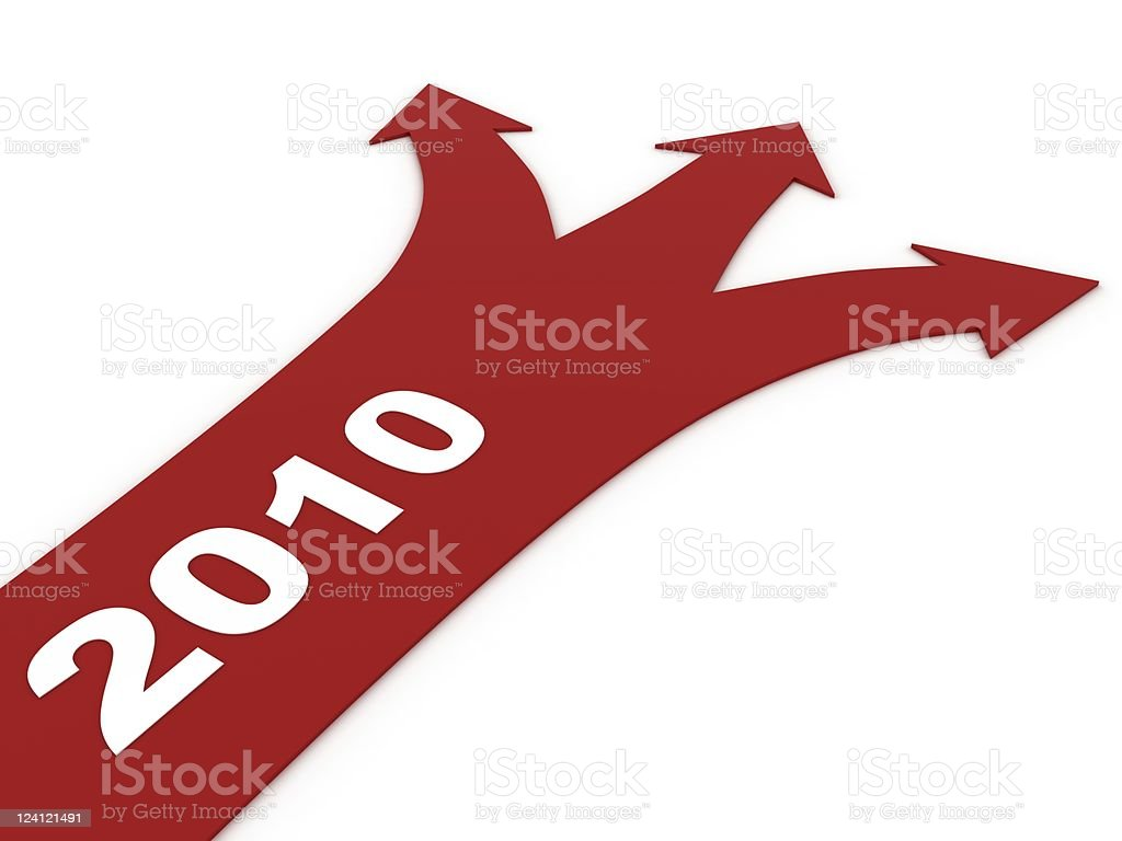 New Year Choices royalty-free stock photo