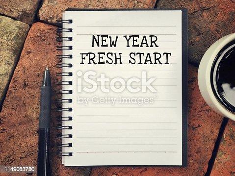 istock New Year concept. 1149083780