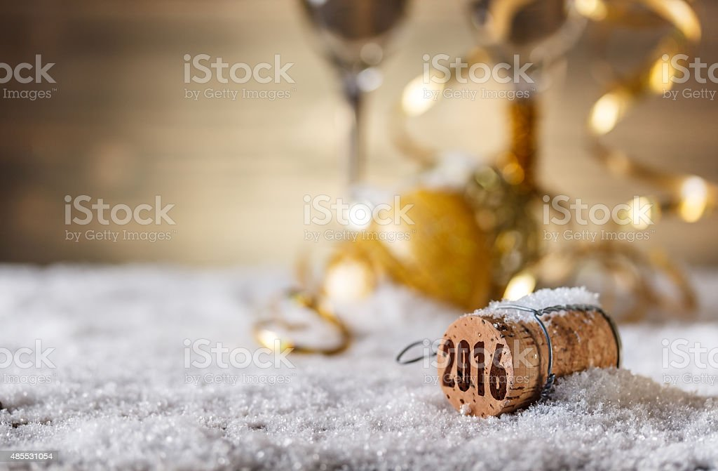 New Year concept stock photo