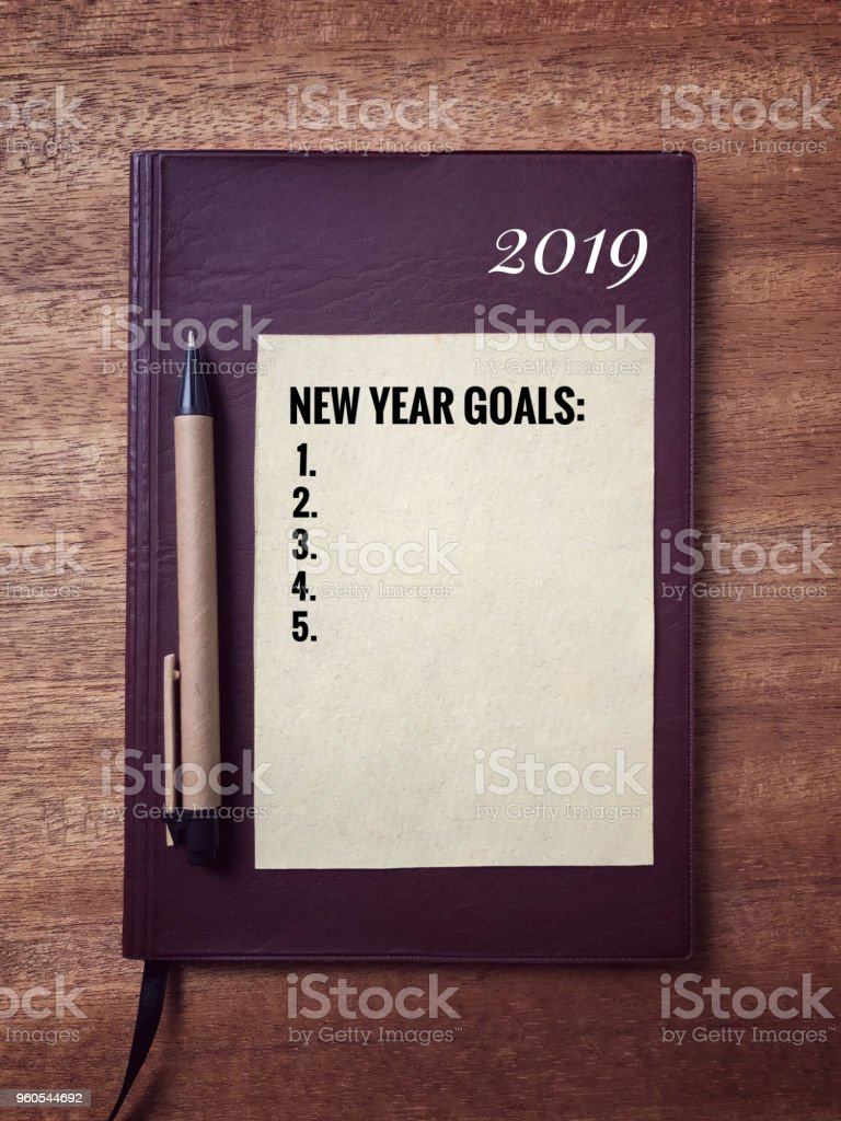 New Year concept. stock photo