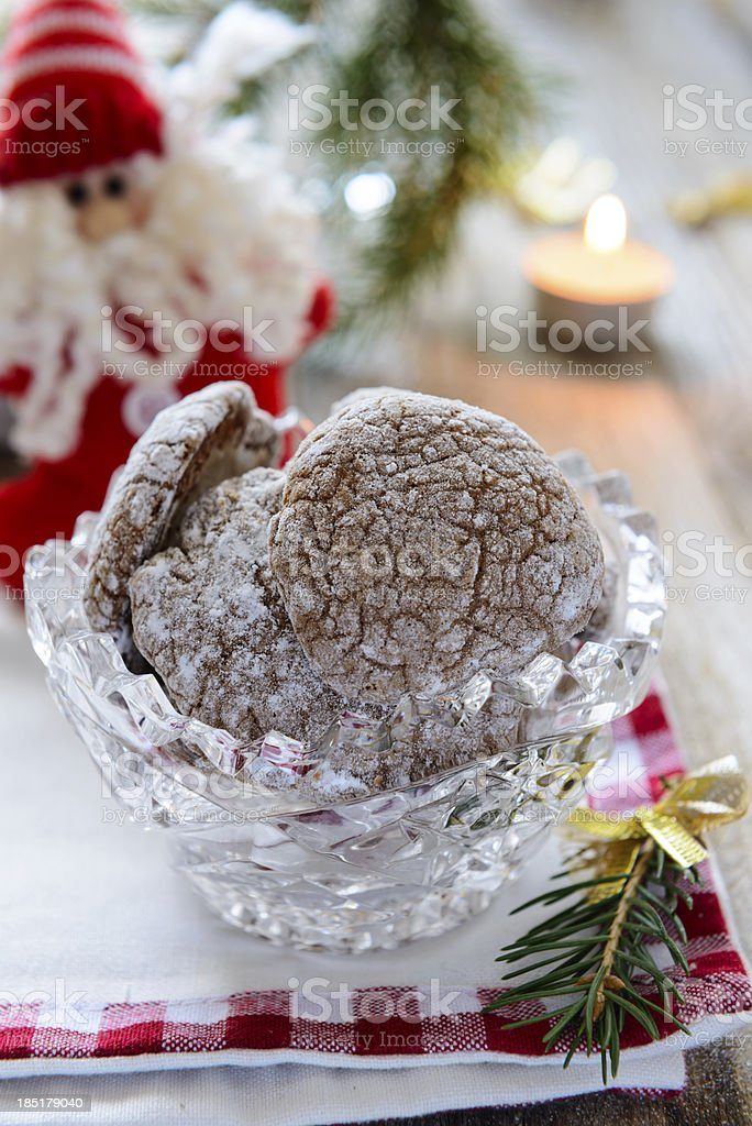 New year cookies royalty-free stock photo