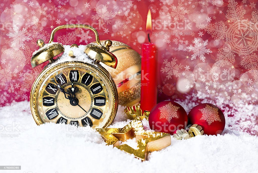 New Year Countdown royalty-free stock photo