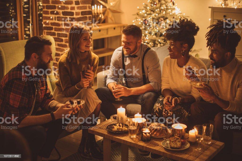 Silvester-Dinner-party – Foto