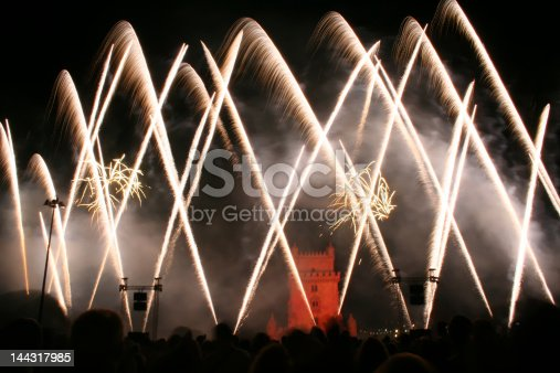 istock new year fireworks in Lisbon 144317985