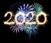2020 new year fireworks