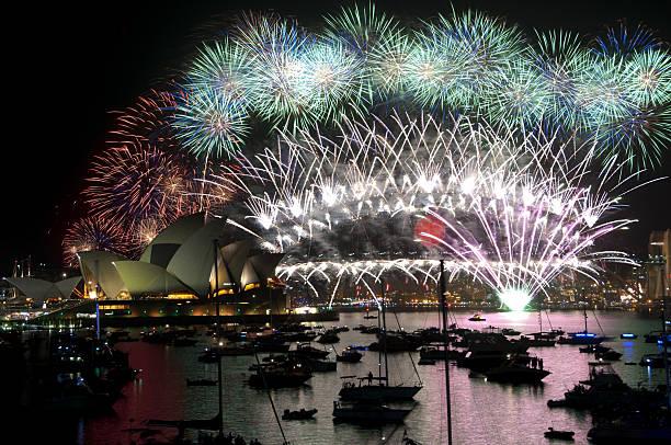 Silvester Feuerwerk, Sydney – Foto