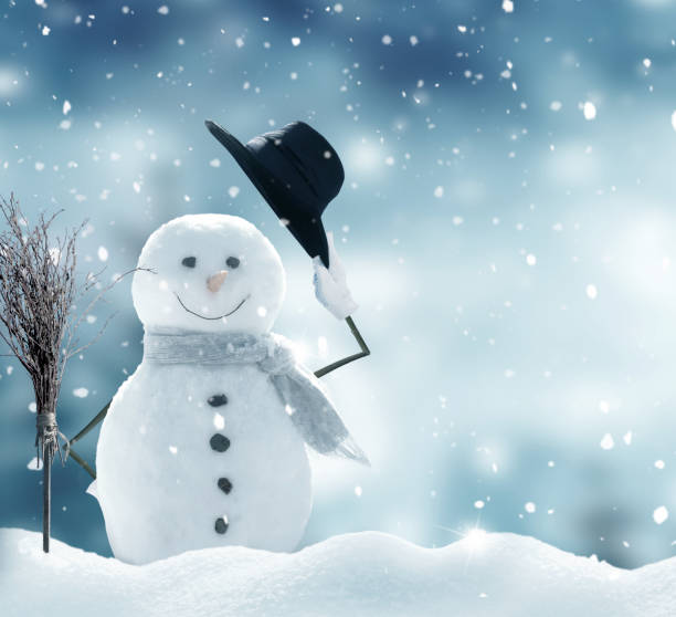 New year greeting card with copyspacehappy snowman standing in picture id1182095334?b=1&k=6&m=1182095334&s=612x612&w=0&h=lcyxe3i6qk4er5cglcrbnr0cc0xjq9a7tbmbqbnf53o=