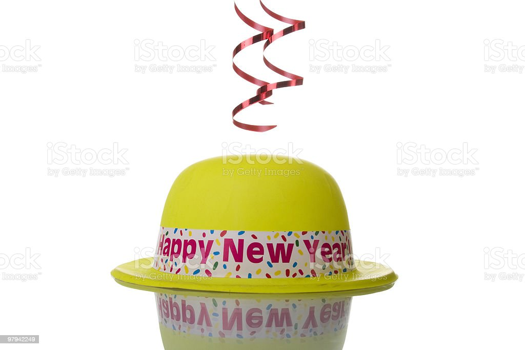 New Year hat royalty-free stock photo
