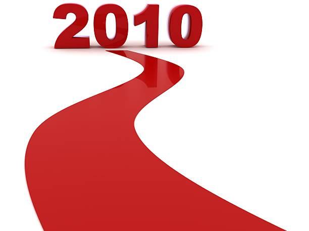 sta arrivando il nuovo anno - 2010 foto e immagini stock