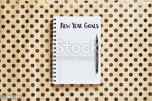 1057357020istockphoto New year, new goals 1126417547