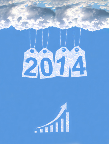 486439381 istock photo New year on the clouds 186437585