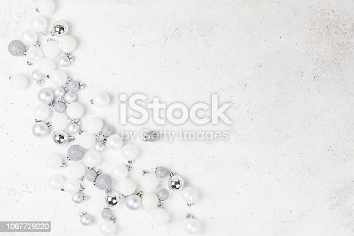 1010098758istockphoto New Year or Christmas decoration background 1067729220