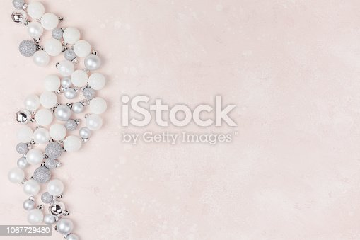 1010098758istockphoto New Year or Christmas decoration background 1067729480