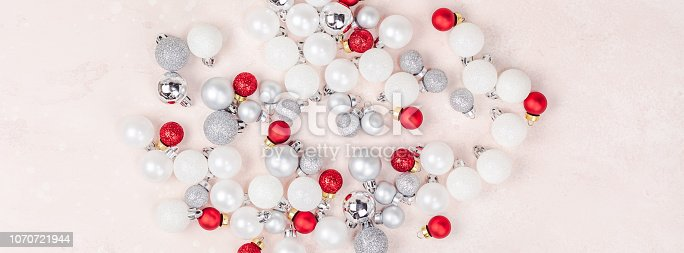 1010098758istockphoto New Year or Christmas decoration background 1070721944