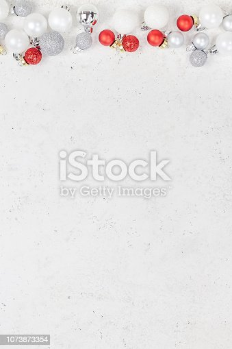 istock New Year or Christmas decoration background 1073873354