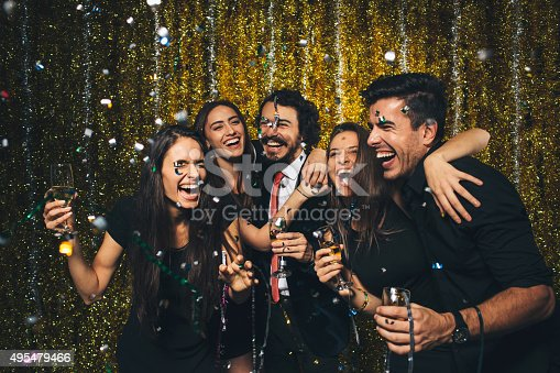 497317250 istock photo New year party 495479466