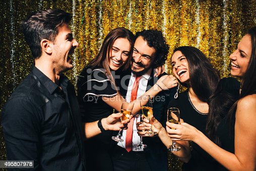 497317250 istock photo New year party 495807978