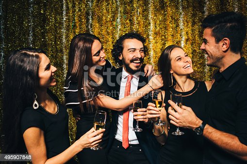 497317250 istock photo New year party 495907848
