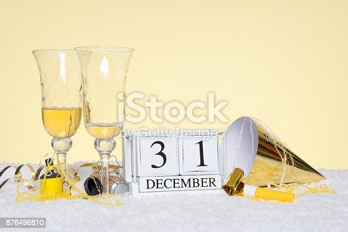 istock New Year party still life 876496810