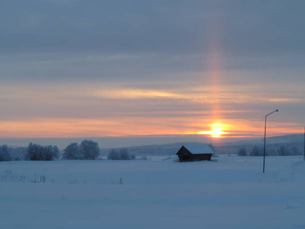 nyårsfoto (polcirkel, sverige) - norrbotten bildbanksfoton och bilder