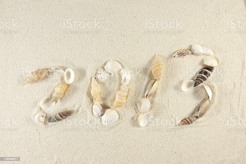 2013 new year royalty-free stock photo