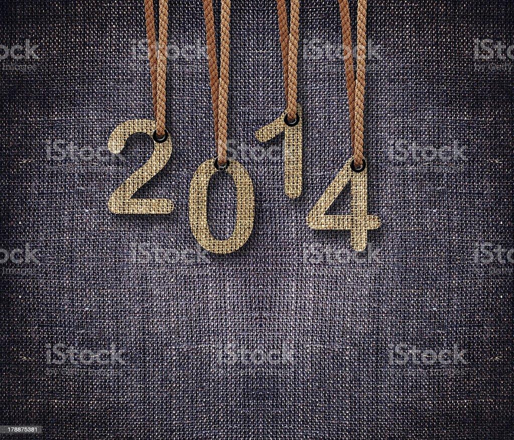 2014 New Year royalty-free stock photo