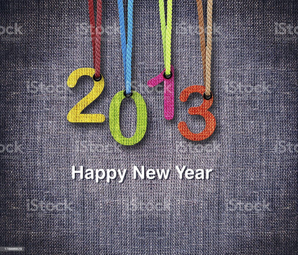 2013 New Year royalty-free stock photo
