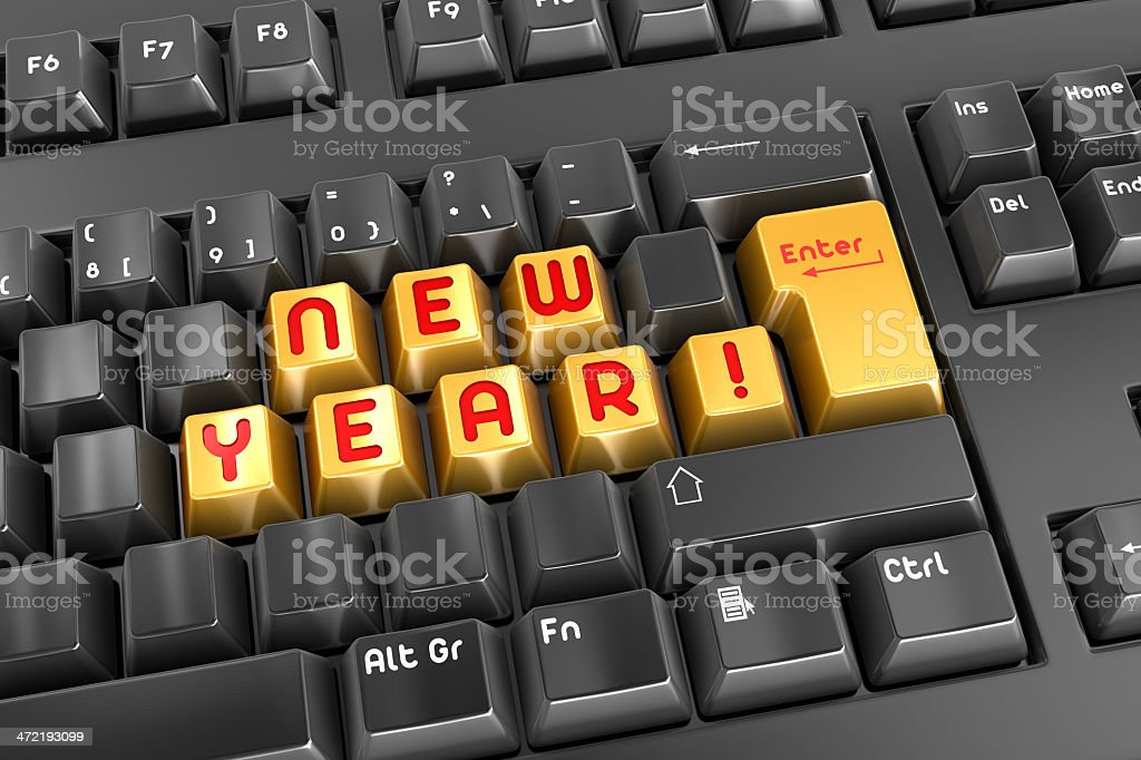 New Year! royalty-free stock photo
